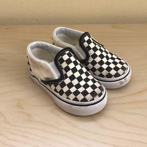 Toddler checkered vans